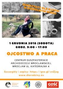 Warsztaty dla Ojców: Ojcostwo, a praca – Wrocław