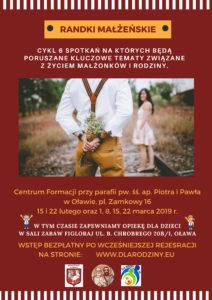 Randki Małżeńskie, Oława, 2019