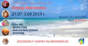 Tydzień dla Rodziny – Dialogi Małżeńskie, Międzywodzie, 2019